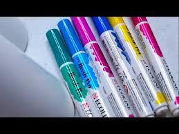 Ecoline Brush Pens Review Comparison