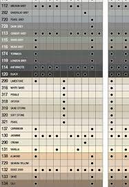 53 Organized Abc Tile Grout Color Chart