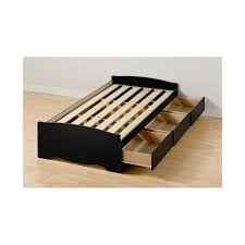 twin platform bed. Twin XL Platform Storage Bed With Drawers