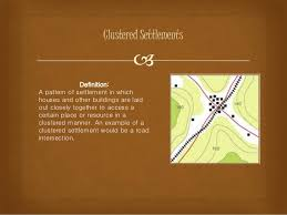 Settlement Patterns Definition