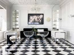black and white tile floor living room. Brilliant Room Polished And Satinfinished White Black Always Know How To Be Leaders  U2013 Idea  10 To Black And White Tile Floor Living Room W