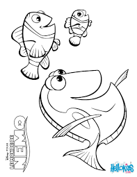 Disney Coloring Pages Marlin Dory And