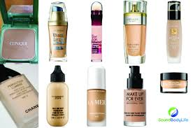 the top 10 foundations for aging skin