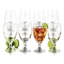 party setsdrinkware image home drinkware goblets 12 pc goblet party glassware set