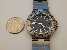 bvlgari watch men bvlgari diagono ti38ta 38mm titanium men s date automatic watch black