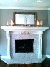 tile fireplace surround ideas prissy design mosaic