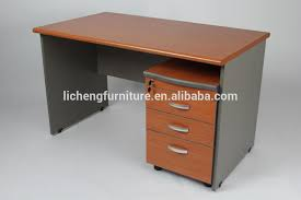 wood office table. Drawers Wooden Table/MDF Office Table With Mobile Cabinet Wood N