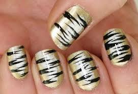 tiger nail art designs - Nail Art Ideas