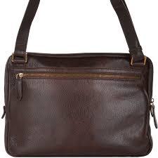 full grain italian leather laptop bag brown 54082 79 14 nh