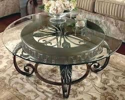modern round glass coffee table glasetal coffee table glass top coffee tables with wood