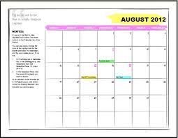 Calendar Template For Word 2010 Rome Fontanacountryinn Com