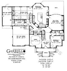 Harbormont Hall House Plan   House Plans by Garrell Associates  Inc PLAN NUMBER