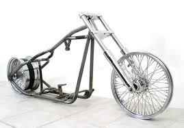 bobber 250 custom rolling chassis for harley motors