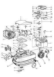 electrolux parts vacuum. electrolux z823 (90018110100) vacuum cleaner housing spare parts diagram e