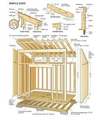 Small Picture Build Your Own Garden Shed From PM Plans Storage building plans