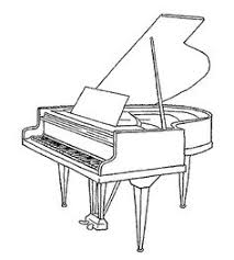 Grand Piano Kleurboek Kleurplaten Muziekinstrumenten En Piano