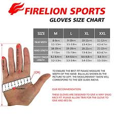 how to measure hand size for gloves amazon com firelion cycling gloves mountain bike gloves road mtb