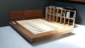 Diy King Platform Bed With Storage King Platform Bed Plans Build