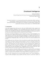 emotional intelligence pdf available