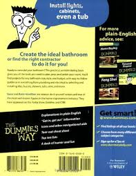 Bathroom Remodeling Books Magnificent Bathroom Remodeling For Dummies Gene Hamilton Katie Hamilton
