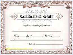 Fake Birth Certificate Template Dietetica Info