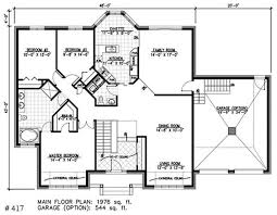 The Bungalow House Plan and America  An Old Passion ReawakenedFloor Plan First Story