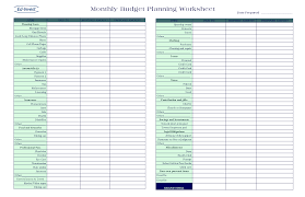 Excel Financial Planning Worksheet Financial Worksheet Template Monthly Excel Finance Spreadsheet
