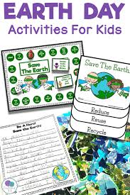 Earth Day Anchor Chart Earth Day Activities For First Grade Kids Firstieland