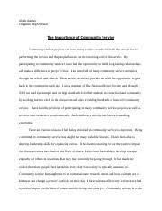 tsotsi essay rough draft jolly jimmy jolly jennifer wolfe  2 pages community service final