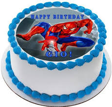 Spiderman 1 Edible Birthday Cake Or Cupcake Topper Edible Prints