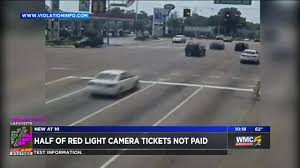 Red Light Photo Ticket Half Of Red Light Camera Tickets Remain Unpaid