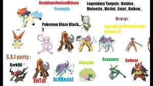 Pokemon Blaze Black 2 / Pokemon Volt White 2 Legendary Walkthrough 3 -  YouTube