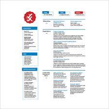 Fashion Graphic Designer Resume Free PDF Download