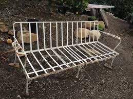 iron patio furniture. Vintage, Circa 1950\u0027s, Wrought Iron Couch Was\u0026nbsp Patio Furniture O
