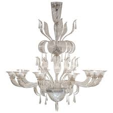 murano glass chandelier by salviati for