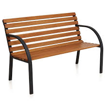 wilko park bench 12 slat fsc outdoor