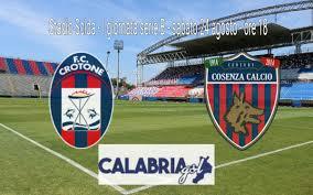 CalabriaGol LIVE CALABRIAGOL! CROTONE-COSENZA 0-0, FINALE ...