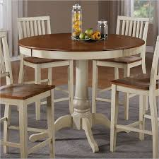 beautiful tall round dining table on silver company round bar height dining table