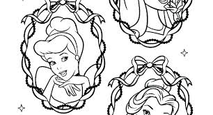 Disney Princess Coloring Pages Printable Free Printable Princess
