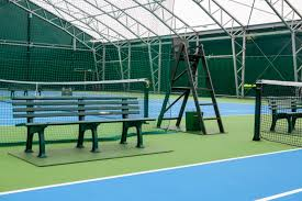 umpires chairs player benches tennis court equipment from net world sports supplied to ellesmere college s