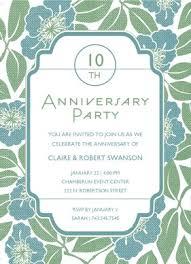 Anniversary Template Printable Art Deco Anniversary Invitation Template