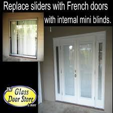cost of replacing sliding glass door with french doors