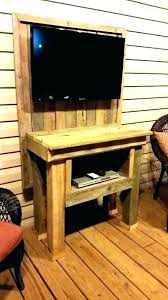 Outdoor Tv Cabinet Ideas
