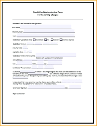 cc auth form authority form template fair sampleauthorizationform forms pinterest
