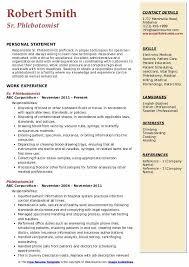 Resumes For Phlebotomist Phlebotomist Resume Samples Qwikresume