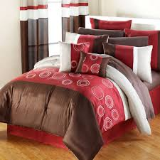 Red And Brown Bedroom Bedroom Very Cozy Comforters And Bedspreads For Modern Bedroom