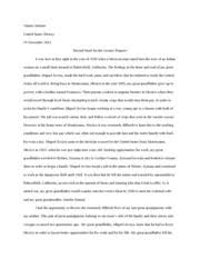 english la english ii brophy college preparatory page  6 pages immigration stories essay assignment