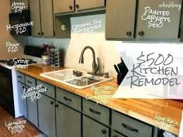 chic update kitchen best updated ideas on painting cabinets attractive how to redo countertops without replacing