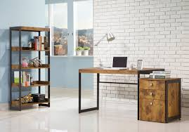 industrial style office. Top 56 Cool L Shaped Desk Industrial Executive Design Shop Desks Innovation Style Office S