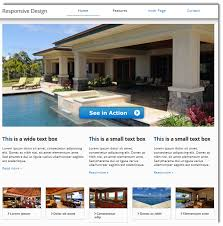 home for sale template universal responsive design template meets css3 drop shadows